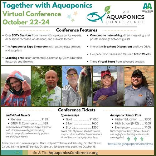 Flyer 2021 Aquaponics Conference
